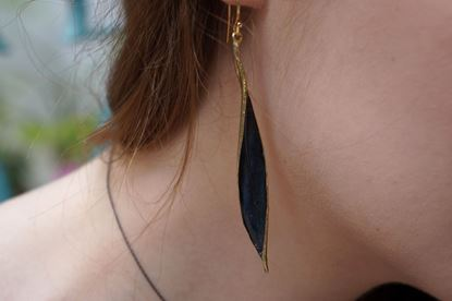 Long Earrings, Olive leaf Earrings, Wild olive, Mother nature